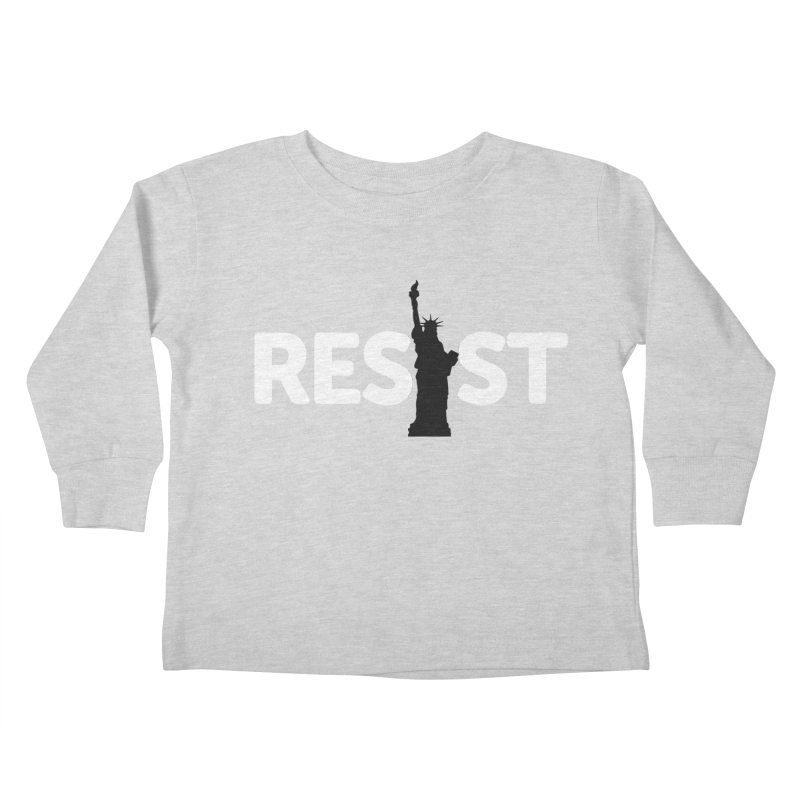 Resist - Liberty Kids Toddler Longsleeve T-Shirt by Shop Indivisible