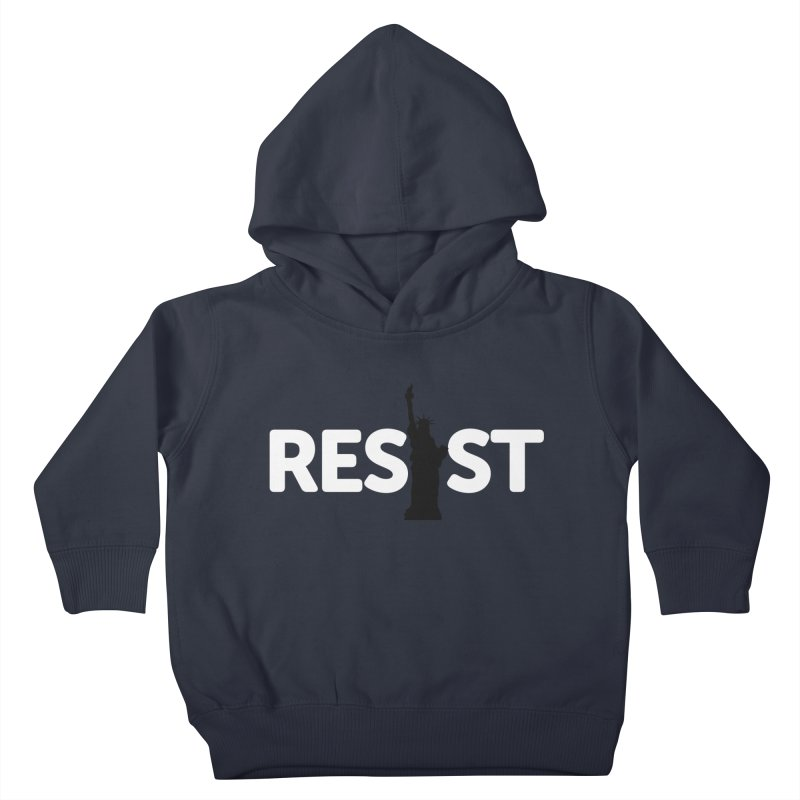 Resist - Liberty Kids Toddler Pullover Hoody by Shop Indivisible