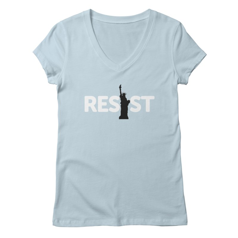 Resist - Liberty Women's V-Neck by Shop Indivisible