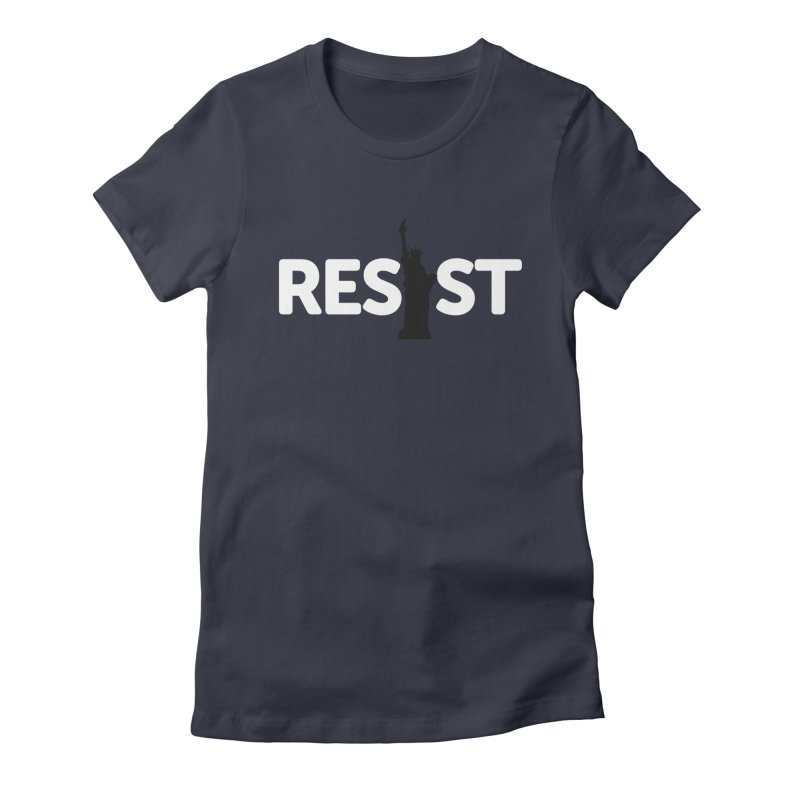 Resist - Liberty Women's T-Shirt by Shop Indivisible