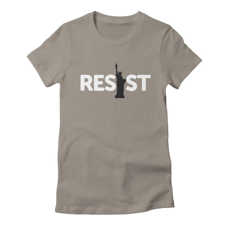 Resist - Liberty Women's Fitted T-Shirt by Shop Indivisible