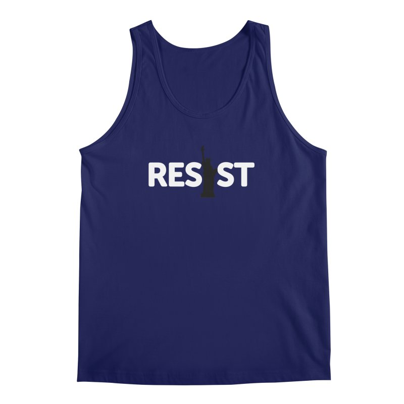 Resist - Liberty Men's Regular Tank by Shop Indivisible