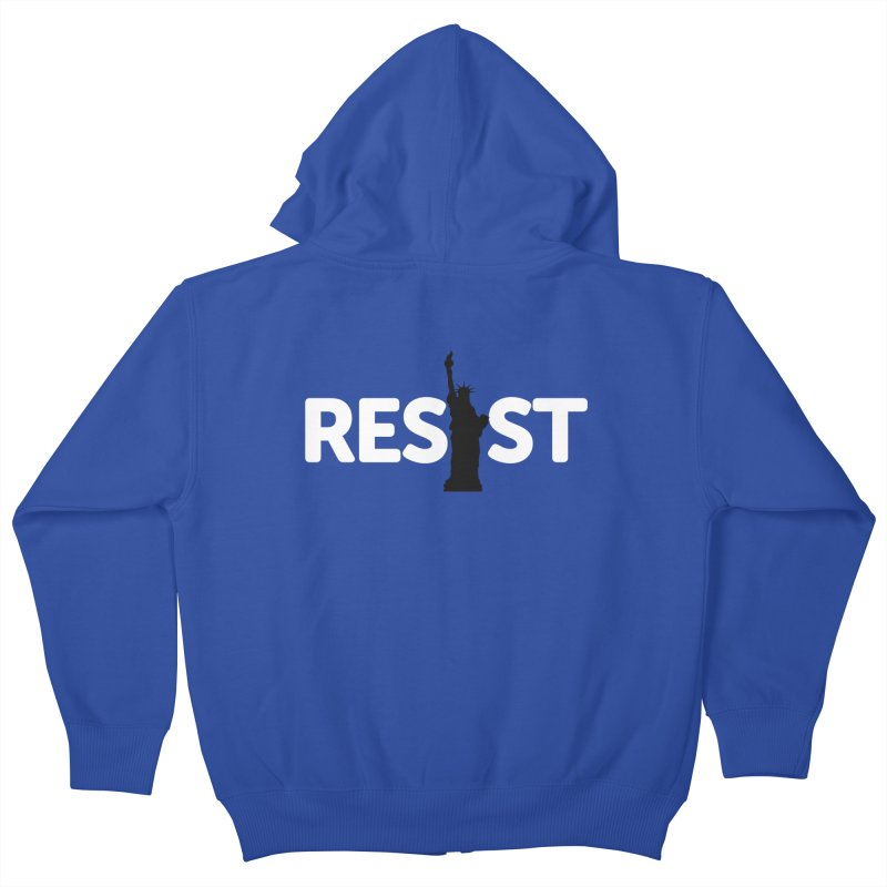 Resist - Liberty Kids Zip-Up Hoody by Shop Indivisible