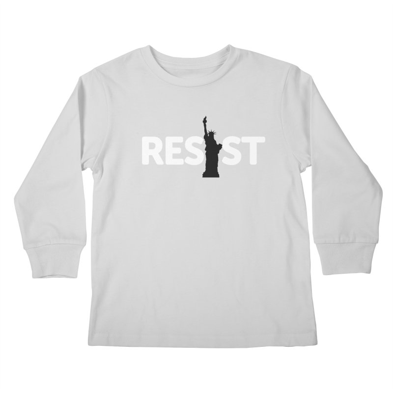 Resist - Liberty Kids Longsleeve T-Shirt by Shop Indivisible