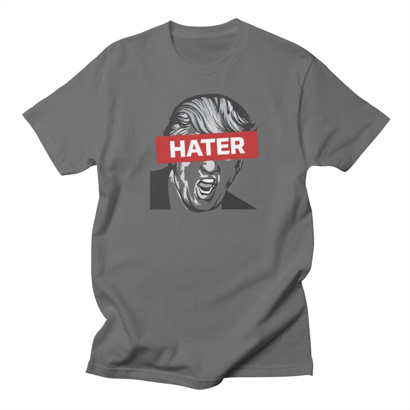 Donald Trump - Hater Resistance T-Shirt Men's T-Shirt by Shop Indivisible