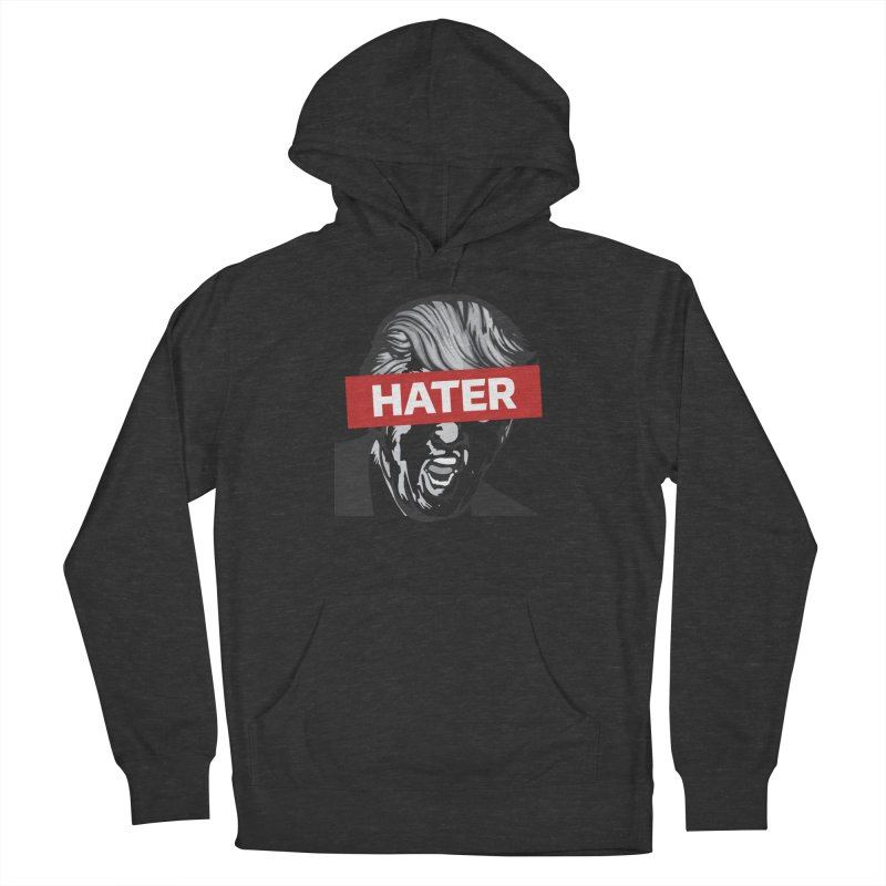 Donald Trump - Hater Resistance T-Shirt Men's Pullover Hoody by Shop Indivisible
