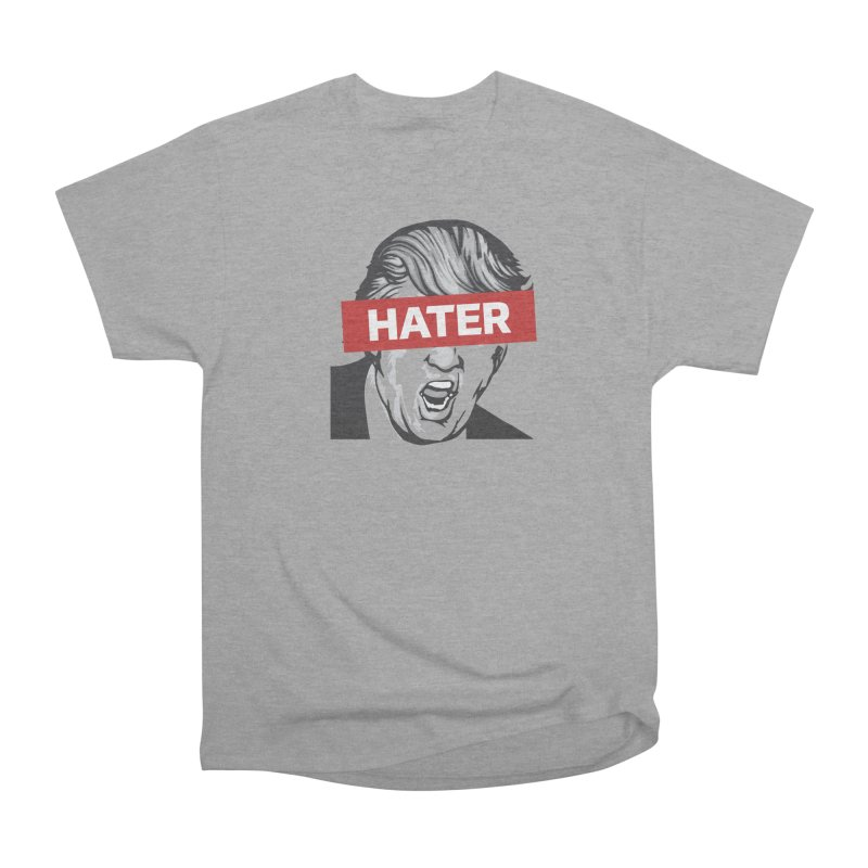 Donald Trump - Hater Resistance T-Shirt Men's Heavyweight T-Shirt by Shop Indivisible