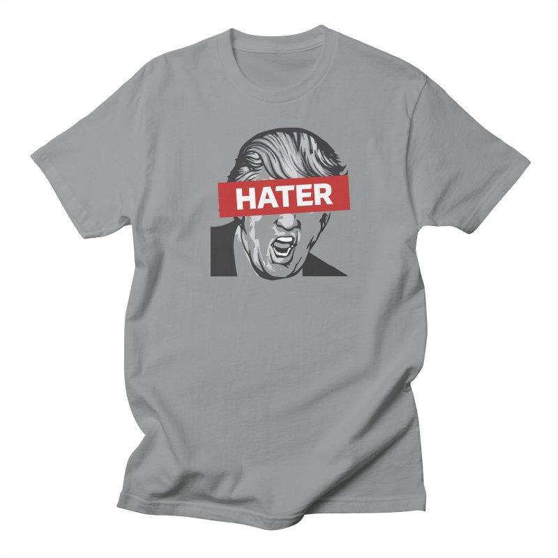 Donald Trump - Hater Resistance T-Shirt Men's Regular T-Shirt by Shop Indivisible