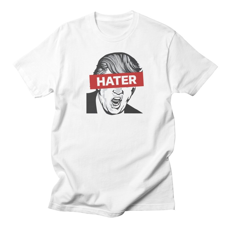 Donald Trump - Hater Resistance T-Shirt Men's Regular T-Shirt by Shop Indivisible