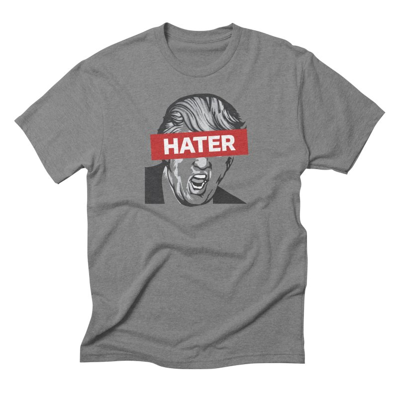 Donald Trump - Hater Resistance T-Shirt Men's Triblend T-Shirt by Shop Indivisible