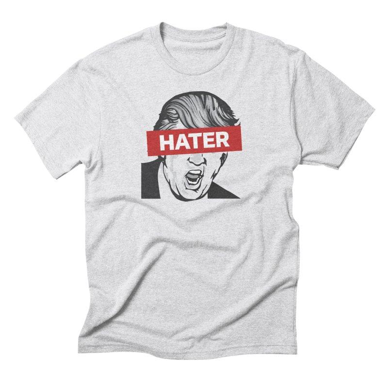 Donald Trump - Hater Resistance T-Shirt Men's Triblend T-Shirt by Shop Indivisible