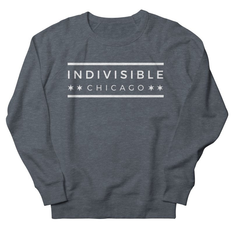 Logo Single Color Men's French Terry Sweatshirt by Indivisible Chicago Store