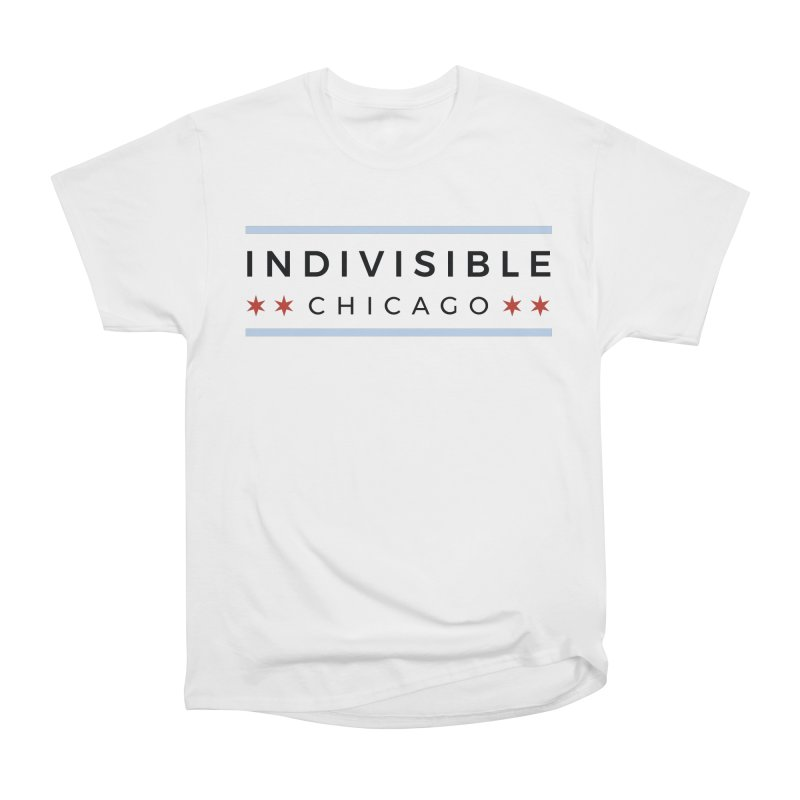 Logo Classic Men's Heavyweight T-Shirt by Indivisible Chicago Store