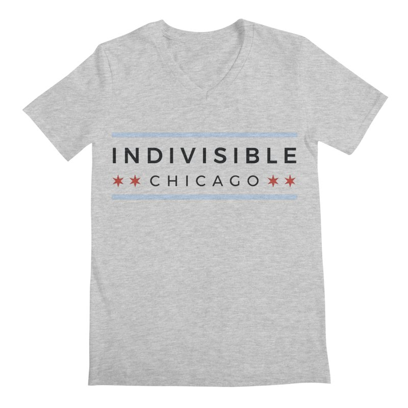 Logo Classic Men's Regular V-Neck by Indivisible Chicago Store