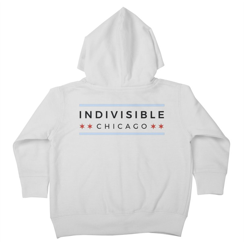 Logo Classic Kids Toddler Zip-Up Hoody by Indivisible Chicago Store