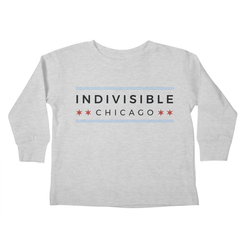 Logo Classic Kids Toddler Longsleeve T-Shirt by Indivisible Chicago Store