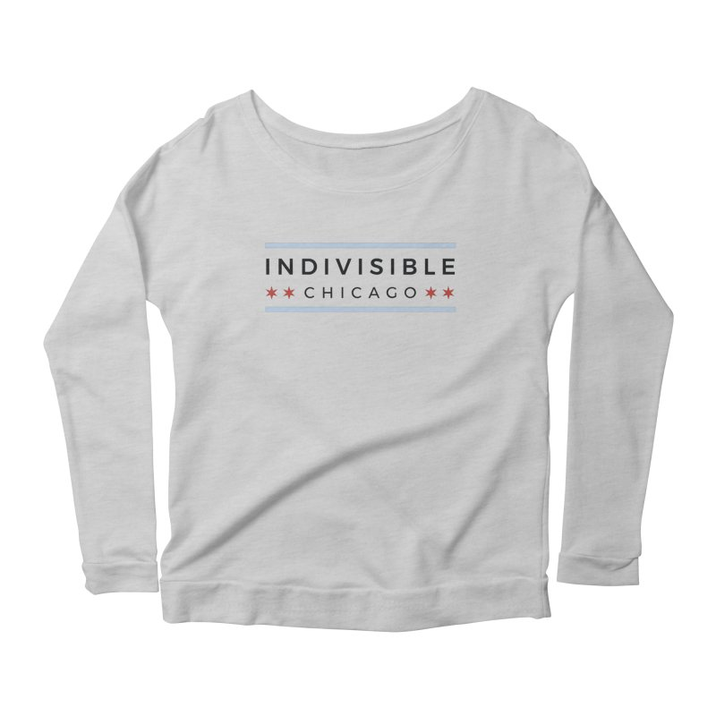 Logo Classic Women's Scoop Neck Longsleeve T-Shirt by Indivisible Chicago Store