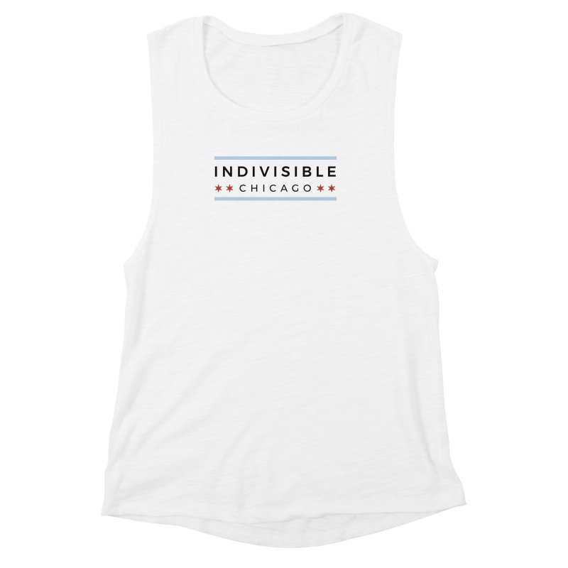 Logo Classic Women's Muscle Tank by Indivisible Chicago Store