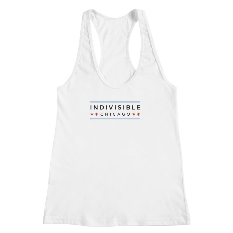 Logo Classic Women's Racerback Tank by Indivisible Chicago Store
