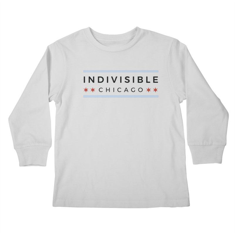 Logo Classic Kids Longsleeve T-Shirt by Indivisible Chicago Store