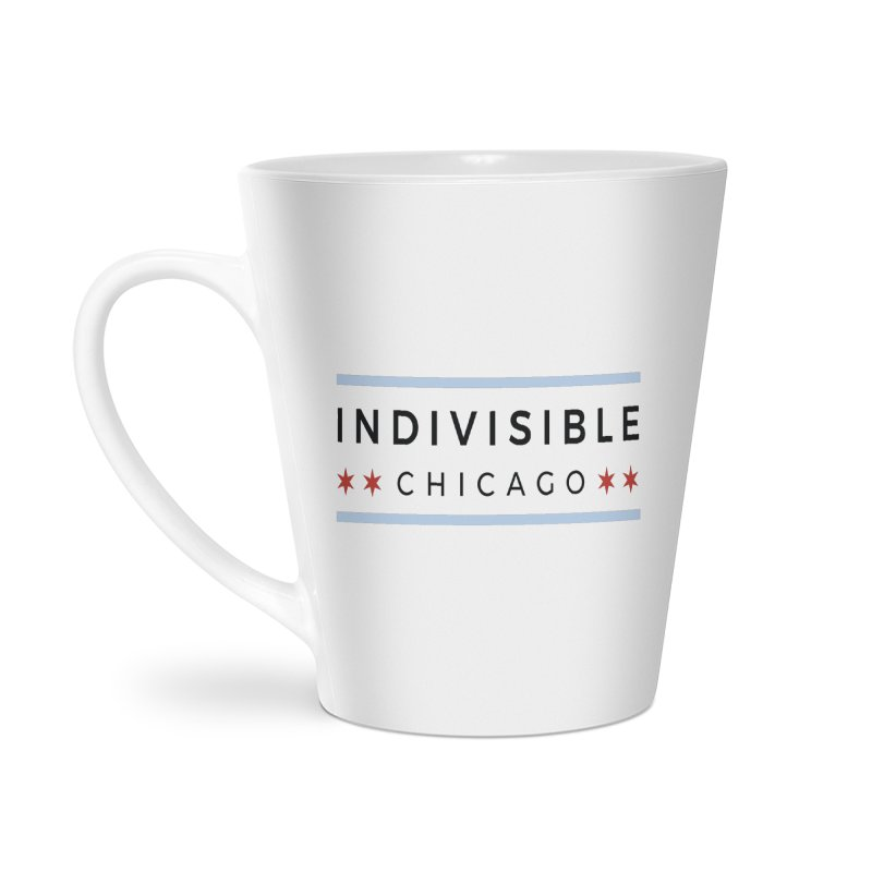 Logo Classic Accessories Latte Mug by Indivisible Chicago Store