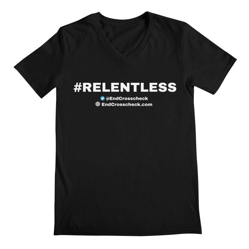 Relentless Men's Regular V-Neck by Indivisible Chicago Store
