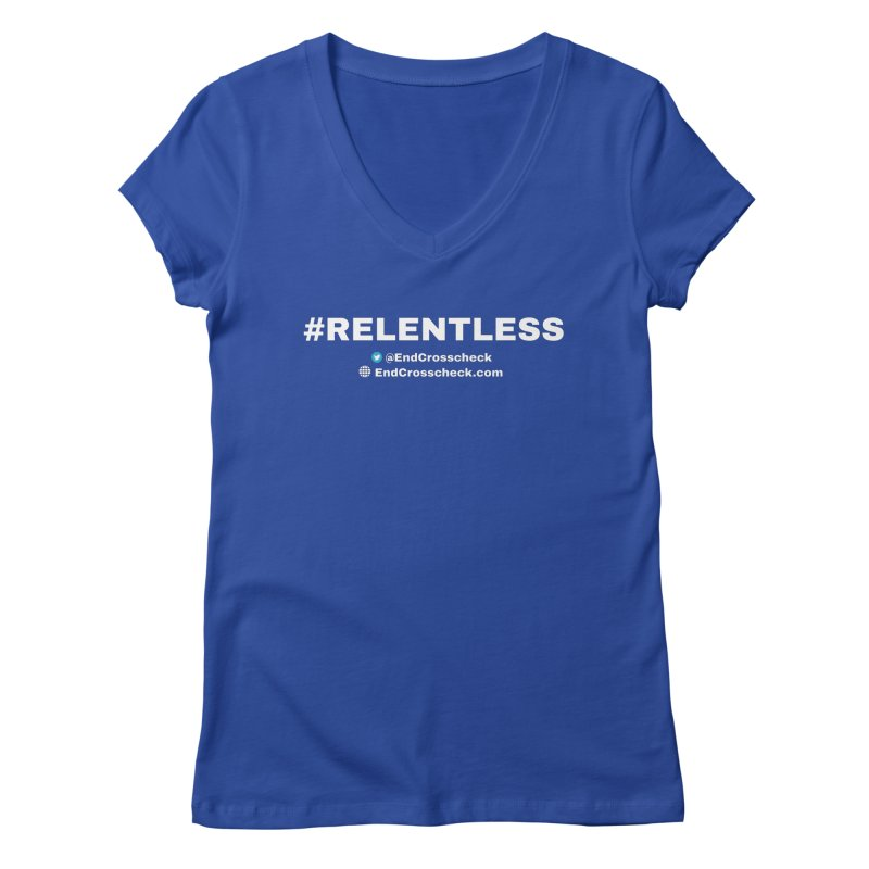 Relentless Women's Regular V-Neck by Indivisible Chicago Store