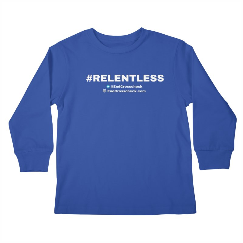 Relentless Kids Longsleeve T-Shirt by Indivisible Chicago Store