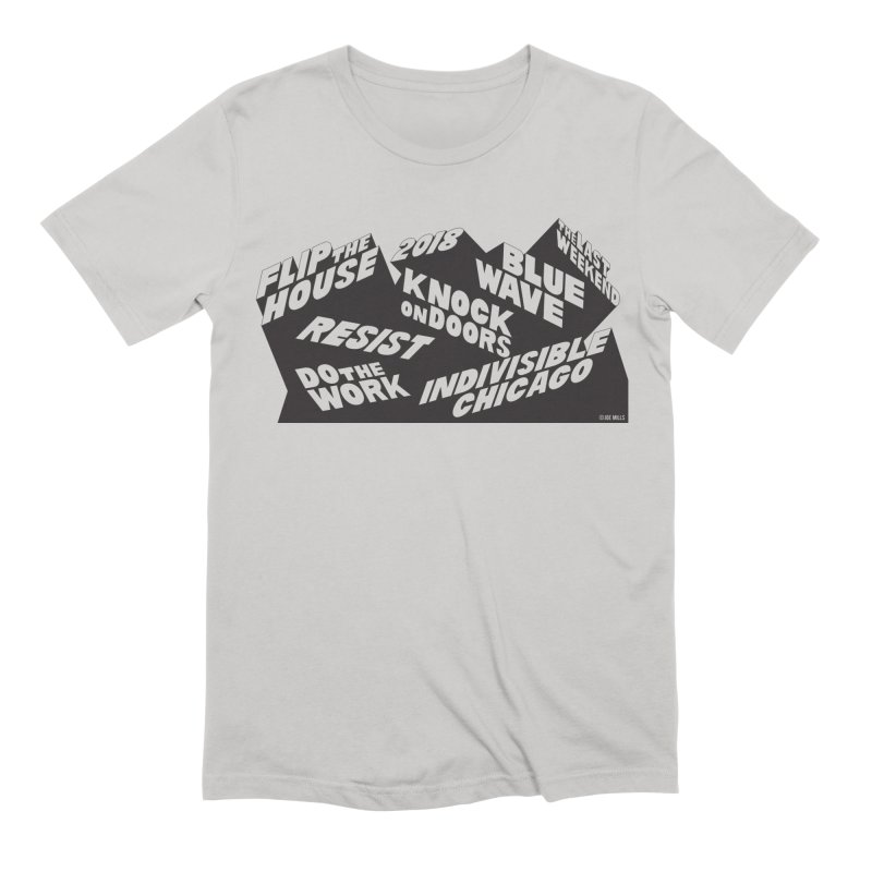 GOTV Men's T-Shirt by Indivisible Chicago Store