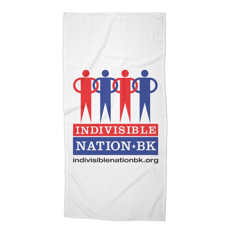 INBK Logo Accessories Beach Towel by Indivisible Nation BK's Shop