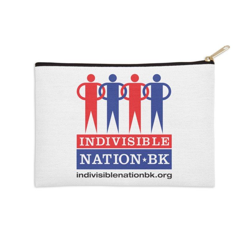 INBK Logo Accessories Zip Pouch by Indivisible Nation BK's Shop