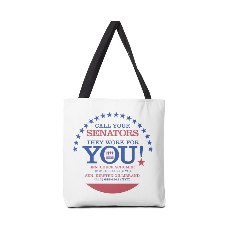 Call Your Senators! Accessories Tote Bag Bag by Indivisible Nation BK's Shop