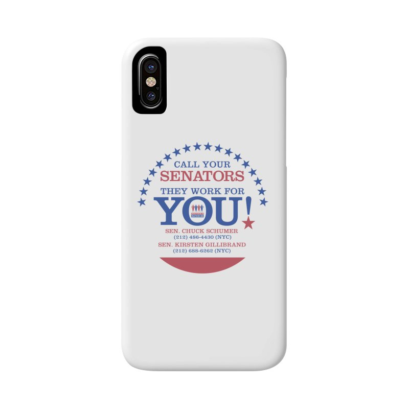 Call Your Senators! Accessories Phone Case by Indivisible Nation BK's Shop