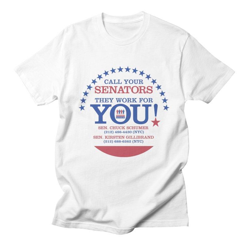 Call Your Senators! Men's T-Shirt by Indivisible Nation BK's Shop