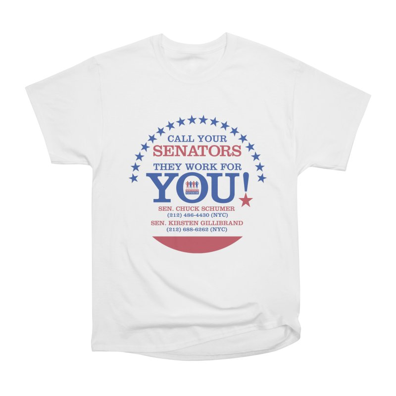 Call Your Senators! Men's Heavyweight T-Shirt by Indivisible Nation BK's Shop