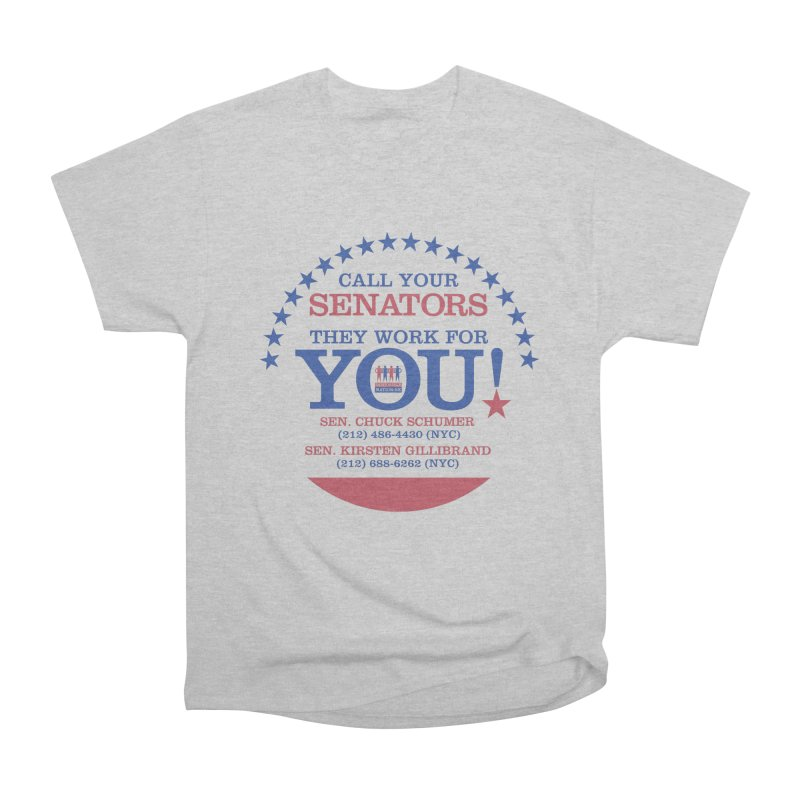 Call Your Senators! Women's Heavyweight Unisex T-Shirt by Indivisible Nation BK's Shop