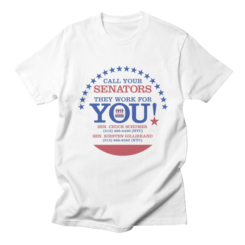 Call Your Senators! Men's Regular T-Shirt by Indivisible Nation BK's Shop