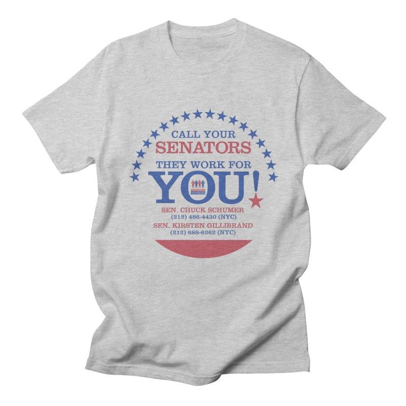 Call Your Senators! Men's Regular T-Shirt by Indivisible Nation BK's Shop