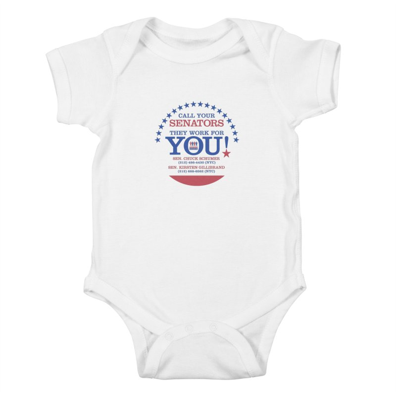 Call Your Senators! Kids Baby Bodysuit by Indivisible Nation BK's Shop