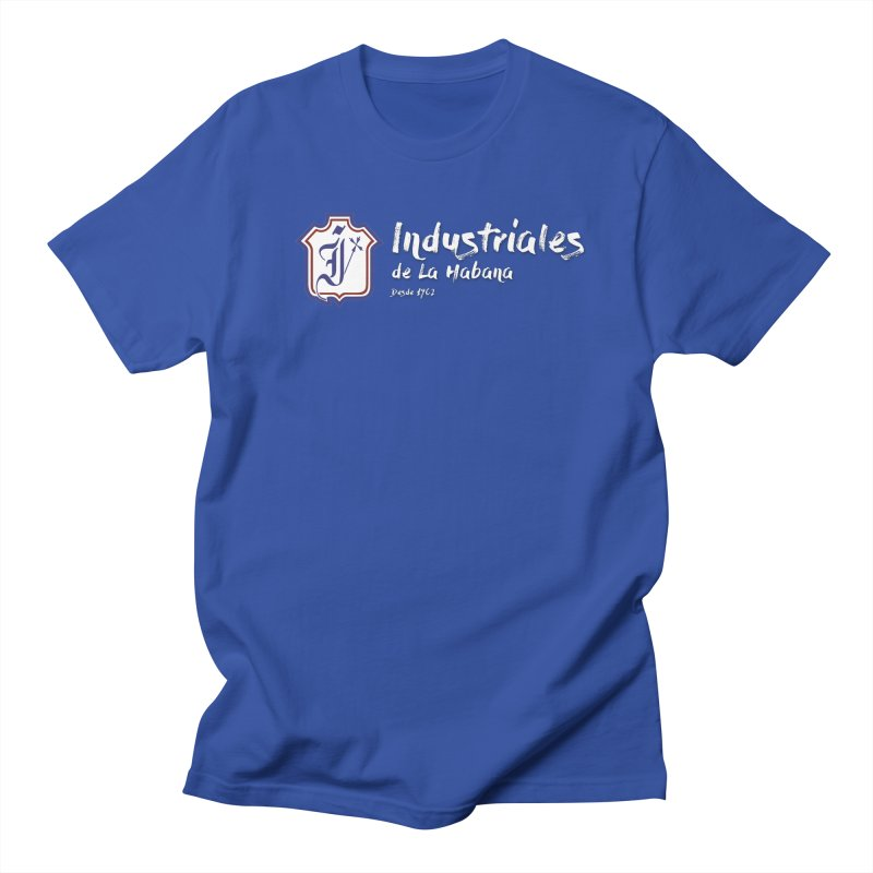 Industriales Urbano in Men's Regular T-Shirt Royal Blue by Industriales de La Habana