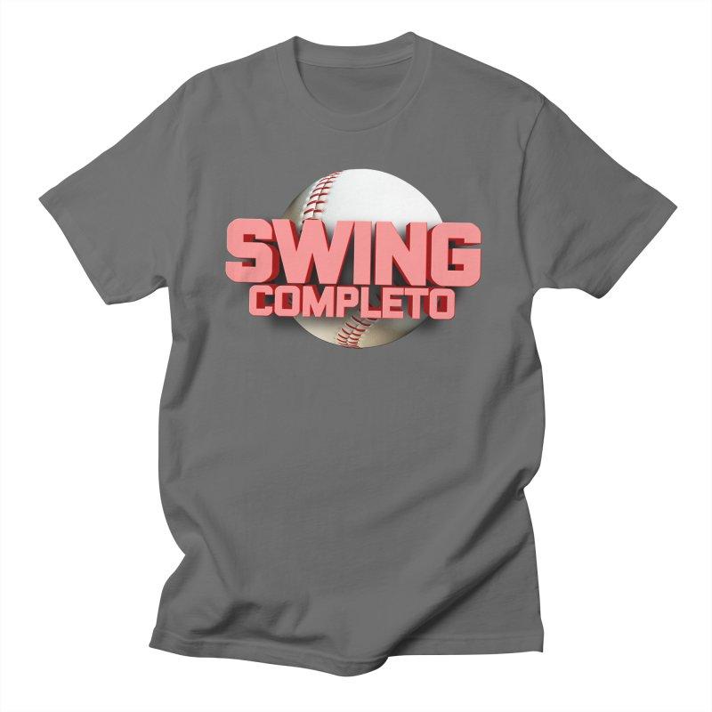 Swing Completo in Men's Regular T-Shirt Asphalt by Industriales de La Habana