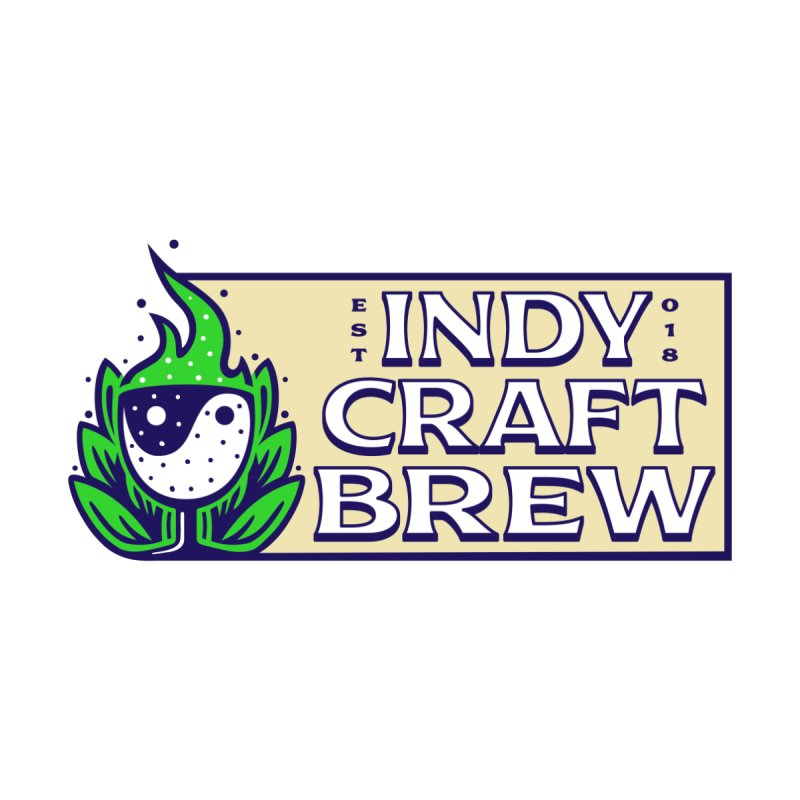 NEW ICB Logo V2 Shirt Men's T-Shirt by Indy Craft Brew's Shop