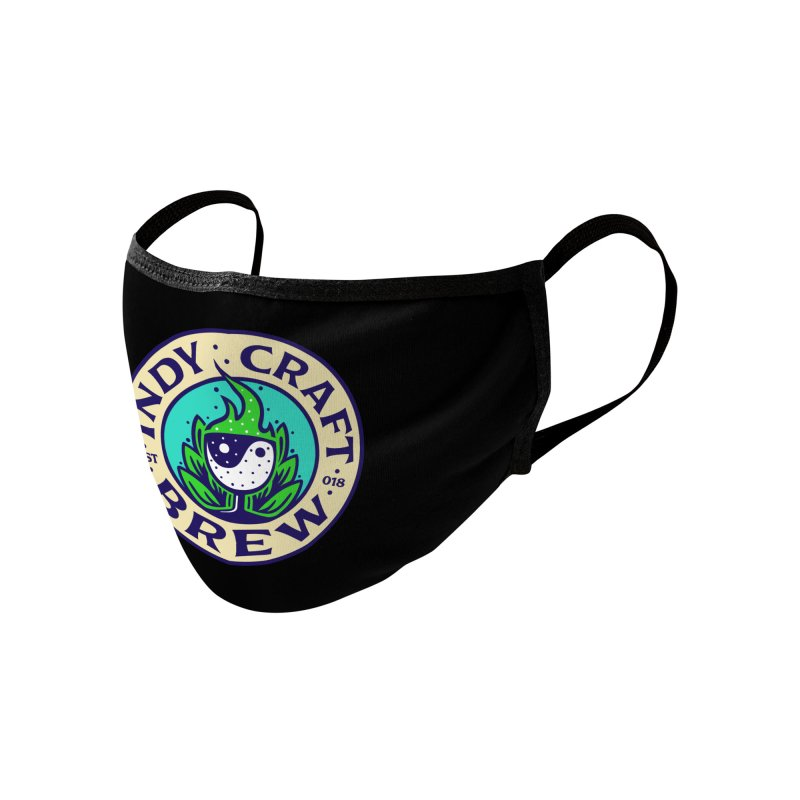 NEW ICB Logo Face Mask Accessories Face Mask by Indy Craft Brew's Shop