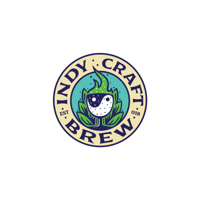 NEW ICB Logo Sticker Accessories Sticker by Indy Craft Brew's Shop