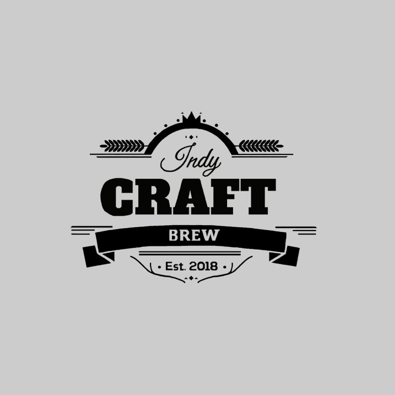 Left Chest Logo Men's T-Shirt by Indy Craft Brew's Shop