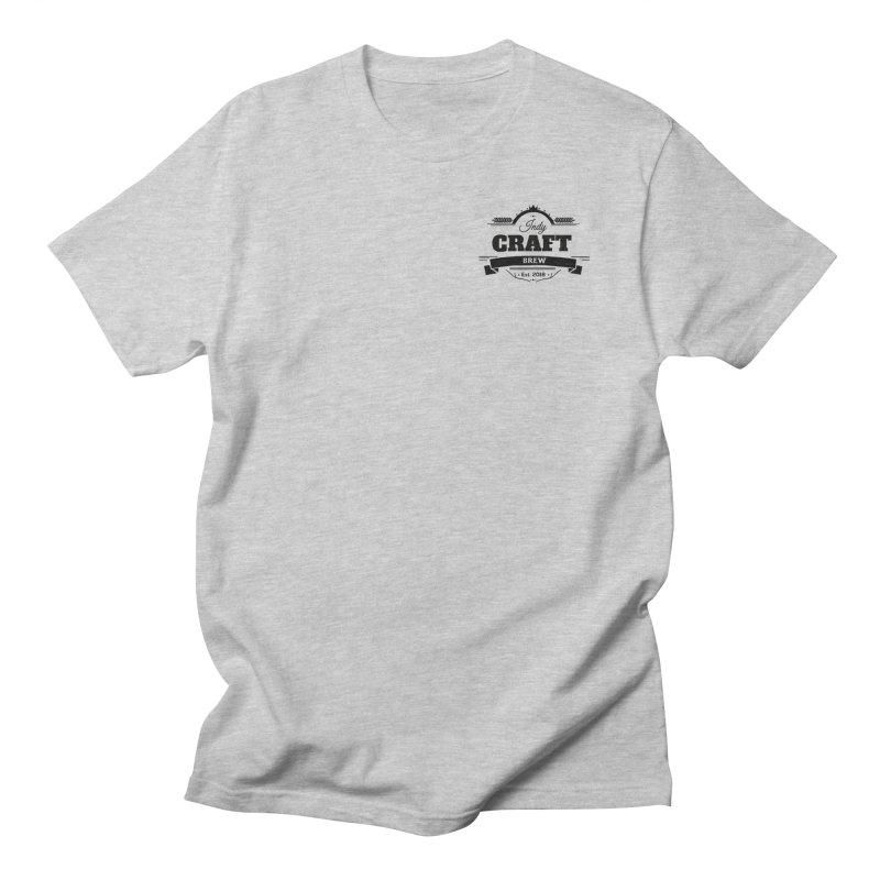 Left Chest Logo Women's Regular Unisex T-Shirt by Indy Craft Brew's Shop