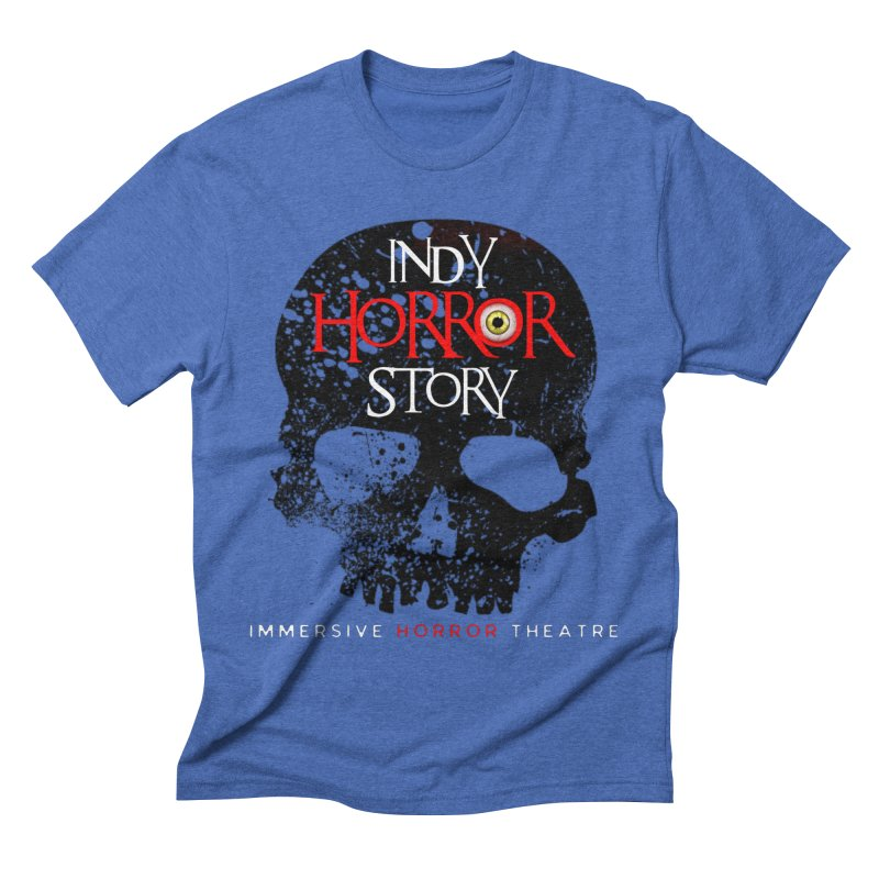 Indy Horror Story Skull Logo Men's T-Shirt by indyhorrorstory's Artist Shop