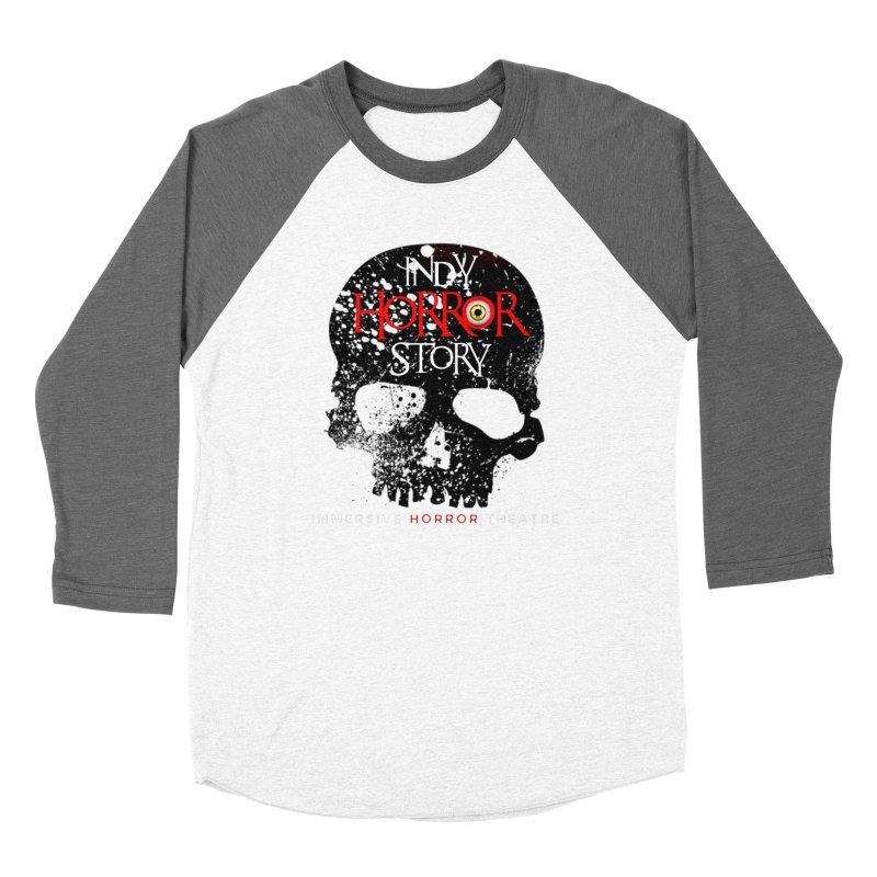 Indy Horror Story Skull Logo Women's Longsleeve T-Shirt by indyhorrorstory's Artist Shop