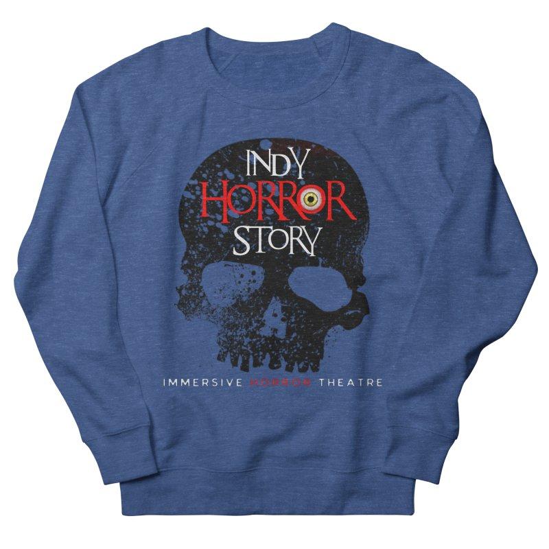 Indy Horror Story Skull Logo Men's Sweatshirt by indyhorrorstory's Artist Shop