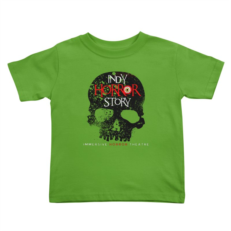 Indy Horror Story Skull Logo Kids Toddler T-Shirt by indyhorrorstory's Artist Shop